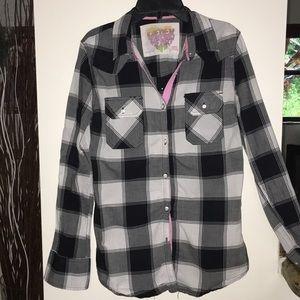 Derek Heart Button Down Shirt